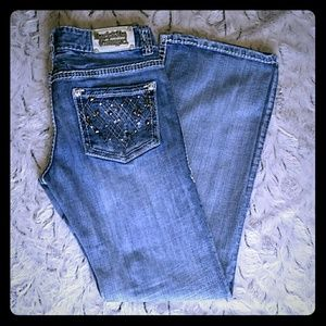 Low Rise Rock and Roll Cowgirl Jeans